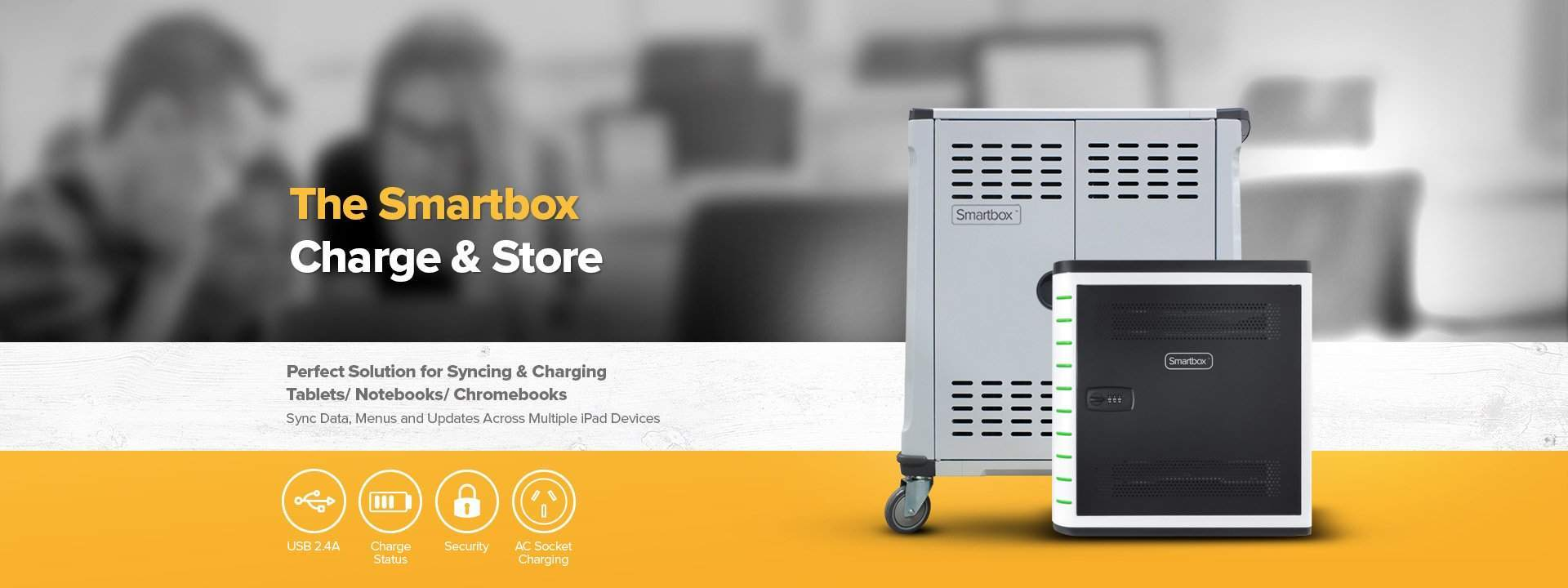 The smart box charge and storage