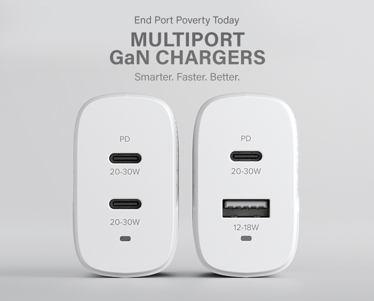 Multiport GaN chargers Mobile